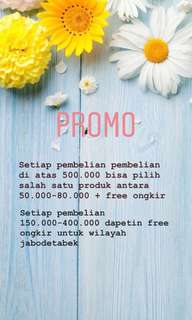 Promo end of month