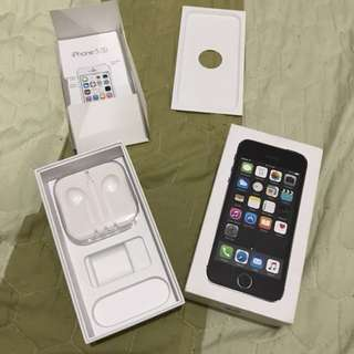 Iphone 5s 16gb Box Replacement