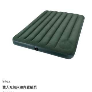 Intex 雙人充氣床連內置腳泵 Intex Full Downy Airbed with Built-in Foot Pump