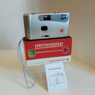 罕有加航纪念版,菲林相机(有閃光設備):歲月收藏品