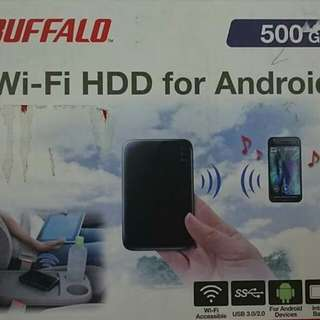 Bufalo wireless hhd