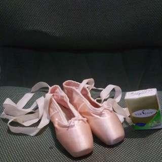 日本買芭蕾舞鞋21 1/2,二手