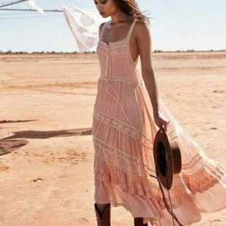 ISO WTB Spell Prairie Lace Sun Dress Peach