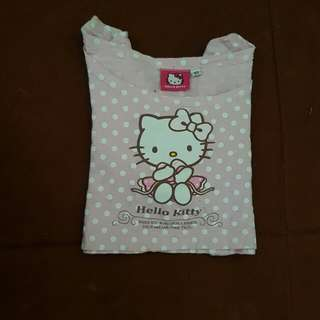 Hello kitty Long Sleeve Croptop