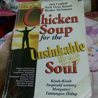 "Buku ""Chicken Soup for the Unsinkable Soul"""