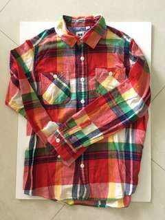 Uniqlo Boys L/S shirt Size 150