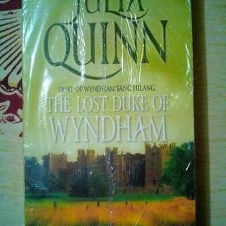 Novel Julia Quinn : The Lost Duke of Wyndham