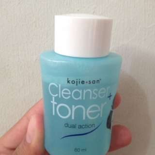 Kojie Cleanser and Toner