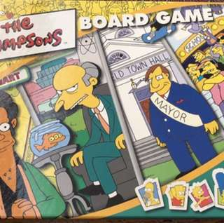 Simpson board game