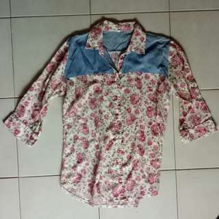 Preloved Floral Blouse