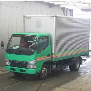 Mitsubishi Canter 14ft Aluminum Van 4D33 Engine Reconditioned Fresh