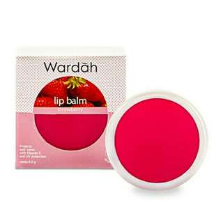 WARDAH Lip BalmStrawberry6.5 g
