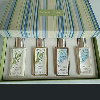 Crabtree & Evelyn travel set