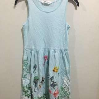 H&M Girl's Dress (under the sea design)