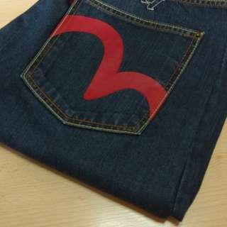 Evisu牛仔褲