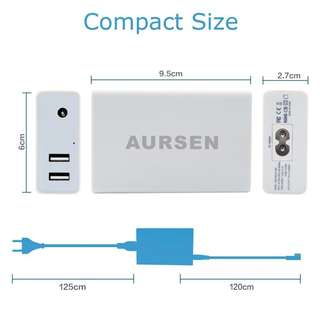 Aursen 45W Magsafe 1 -L TIP Laptop adapter charger white  - 631