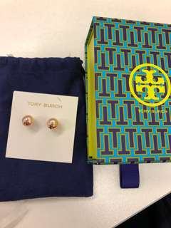 Tory Burch earring 珍珠耳環 全新正貨