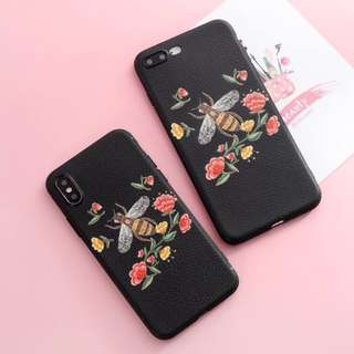 Floral Bee Phone Case