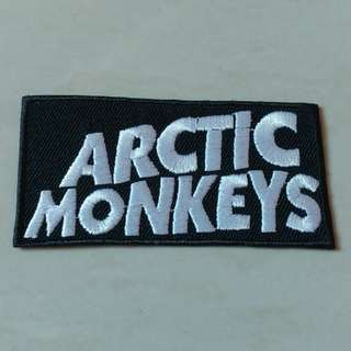 Arctic Monkeys - Logo Woven Patch Band Merch
