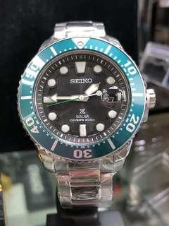 Seiko Prospex Green Solar Diver SNE451P1 limited edition 2500pcs