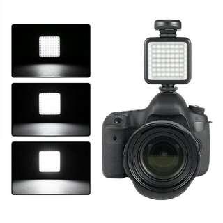 Video lighting flash 49 led