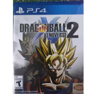 PS4 Dragon Ball Xenoverse 2 US region version (R1) (Brand New)