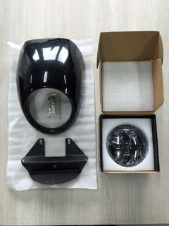 Headlight LED with Front Cowl Set