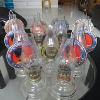Oil kerosene lamps