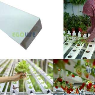 Hydroponic PVC Pipe, PVC Square Tube, Farm Garden Water Irrigation