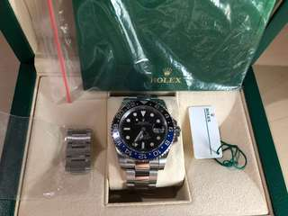 Rolex batman 100% authentic