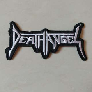 Death Angel - Logo Shaped Woven Patch Band Merch