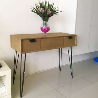 SSF console cum dressing table with Scandinavian style