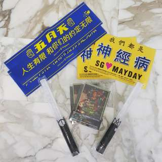 Mayday goodies &DVD