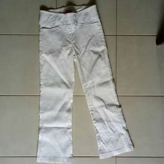 Preloved White Pants