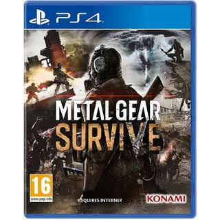Ps4 Metal Gear Survive W/DLC R2