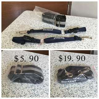 Set Of Luggage Belt & Rope Sling