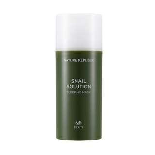 Snail Solution Sleeping Mask