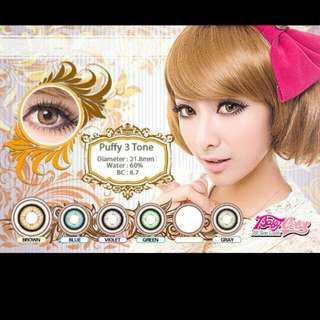 Softlens puffy 3 tone