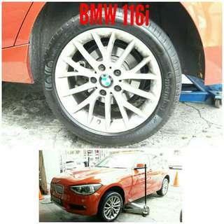 Tyre 225/45 R17 Membat on BMW 116i 🐕 Super Offer 🙋♂️