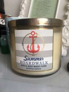 Authentic Bath and Body Works 3wick Candle