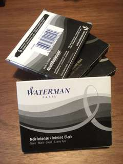 Waterman Black Inks