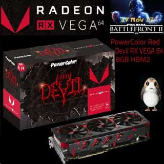 PowerColor Red Devil RX VEGA 64 8GB HBM2..