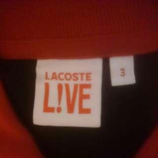 Polo Long LACOSTE LIVE