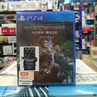 🆕 PS4 Shadow Of War