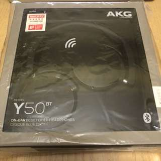 AKG Y50BT BLUETOOTH HEADPHONES