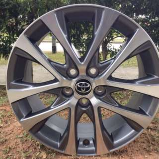 18in PCD 5-114.3 Original Toyota Estima Rims On Sale