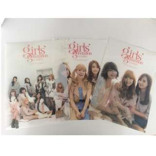 Girls' Generation (SNSD) Official Clear File Folder