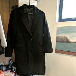 GU black coat