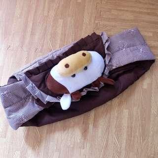 Gendongan bayi boneka Sapi