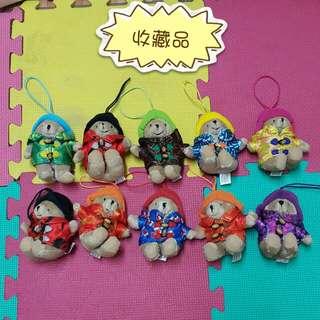 收藏品 柏靈頓寶寶熊絨毛玩偶(10入)